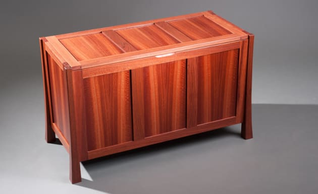 Hope chest jarrah