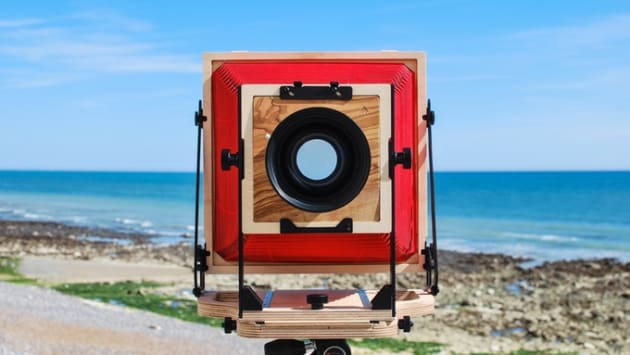 Intrepid Camera Co.'s 8x10 large format camera.