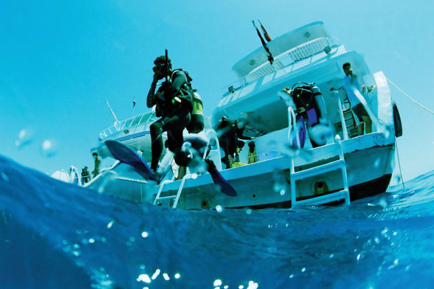 The Australia International Dive Expo adds a new - underwater - dimension to the boat show.