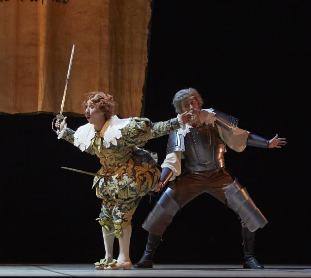Andre Santos (Gamache) & Christian Luck (Don Quixote). Photo: Sergey Pevnev.