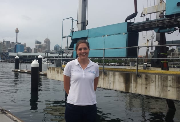 Anne Graveley, compliance and HR officer at Sydney Harbour Boat Storage.