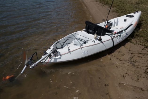 Is electric power the next big thing in kayak fishing?