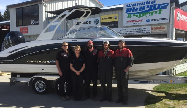 Wanaka Marine is the new dealer for Chaparral Boats in New Zealand.