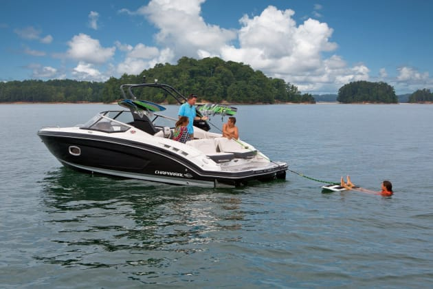 The latest range of Chaparral saltwater surf boats will be on display at Expo.