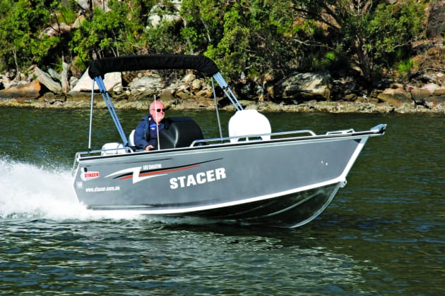 Stacer has cleverly given the Crossfire a fishing/family ratio of 80:20, meaning the fisho still gets a serious fishing boat.