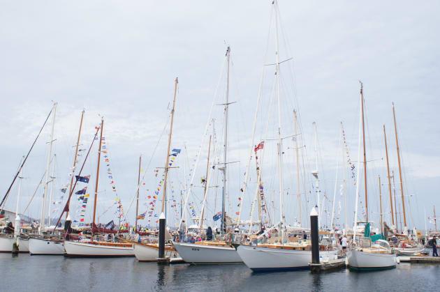 Hobart wooden boat festival
