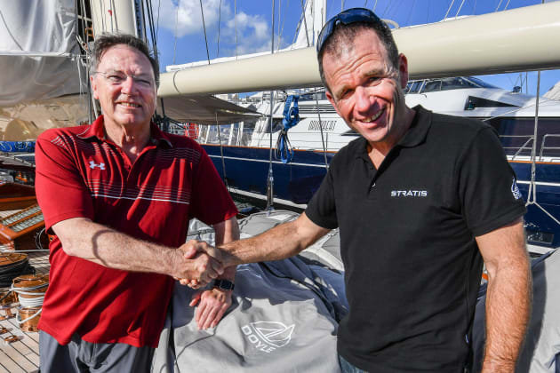 Excited about the future: founder Robbie Doyle (left) and CEO Mike Sanderson (credit: Christophe Favreau).