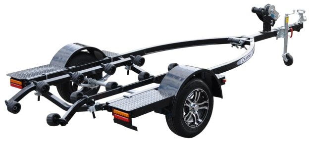 The new Custom Sports Water-toy trailer from Dunbier.