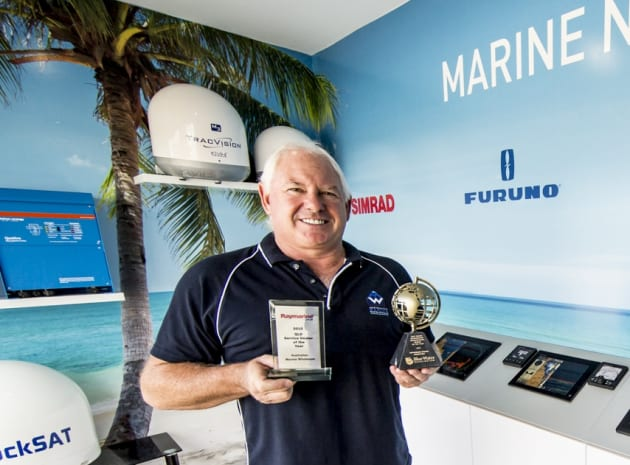 Moving to bigger and better things - Errol Cain at Australian Marine Wholesale.