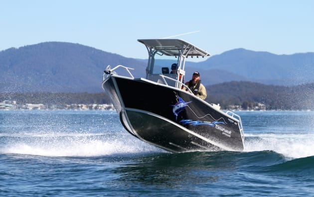 Ideal as a bay and estuary boat, the versatile Tomahawk will satisfy the fair weather offshore angler.