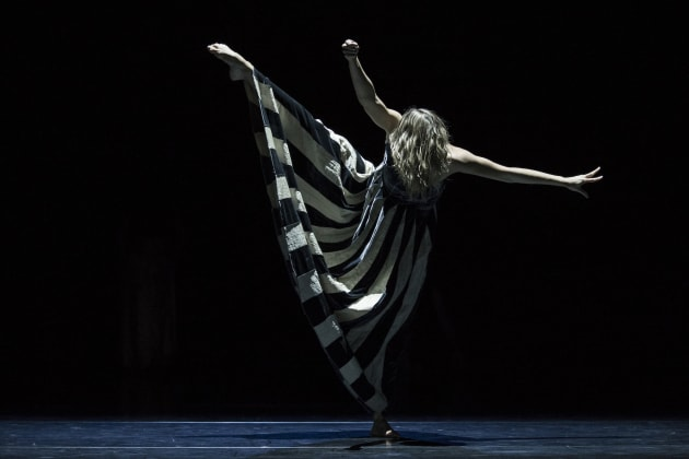 Holly Doyle in 'Full Moon' presented as part of 'Orb'. Photo: Pedro Greig.