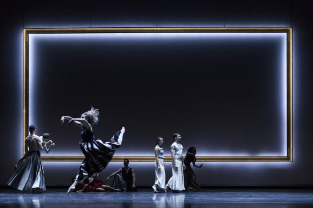 Sydney Dance Company performing 'Full Moon'. Photo: Pedro Greig