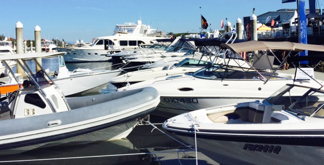 More than 85% of exhibitor space is already sold or reserved across the Expo's two marinas and display circuit.