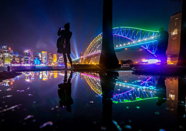 Harbour Bridge Reflection by Jan Breckwoldt