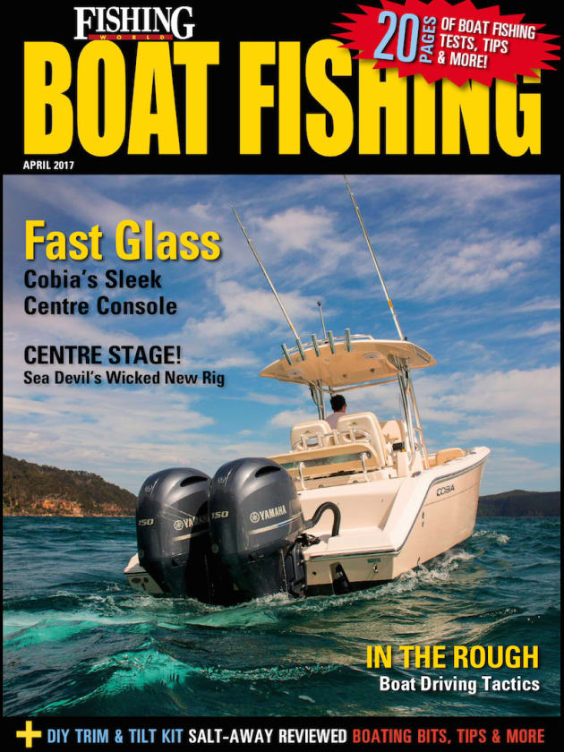 Michael Bonnici chats about his new Sea Devil 520 centre console, Reviews of the Cobia 261CC and Salt-away boat wash, offshore boat handling lessons from Nathan Bajada, DIY tilt and trim plus all the latest products and more!
