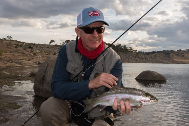 When fly fishing for trout at night there are plenty of proven patterns that work consistently. Generic patterns still work when you can't match the hatch.