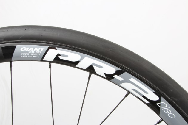 The PR-2 rims are equal parts aero and heavy. They hum along happily at speed and should stand up to a fair bit of abuse along the way.