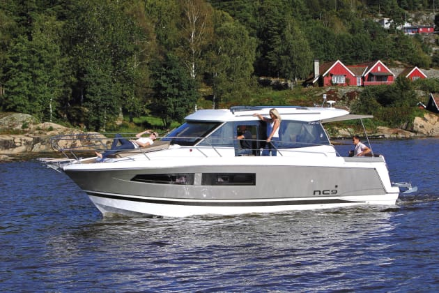 Northside Marine will be showing the Jeanneau NC model.