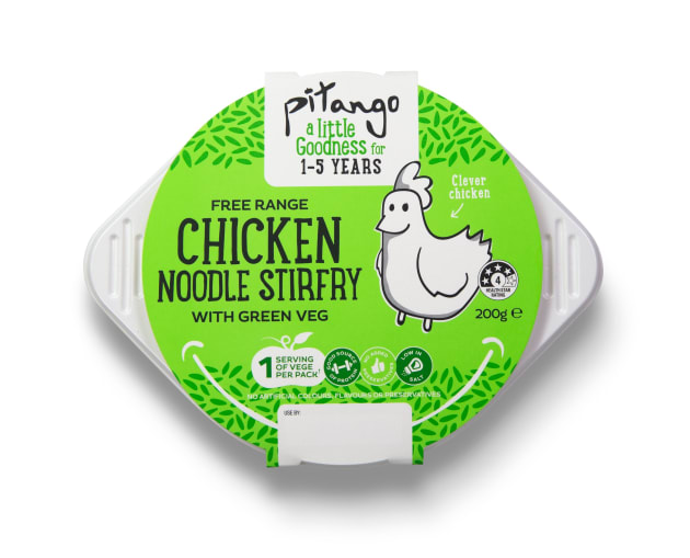 Pitango Little goodness Chicken noodle
