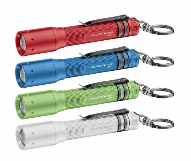 The LED Lenser P3 AFS is a rugged, no-frills compact torch that is ideal as an emergency backup.