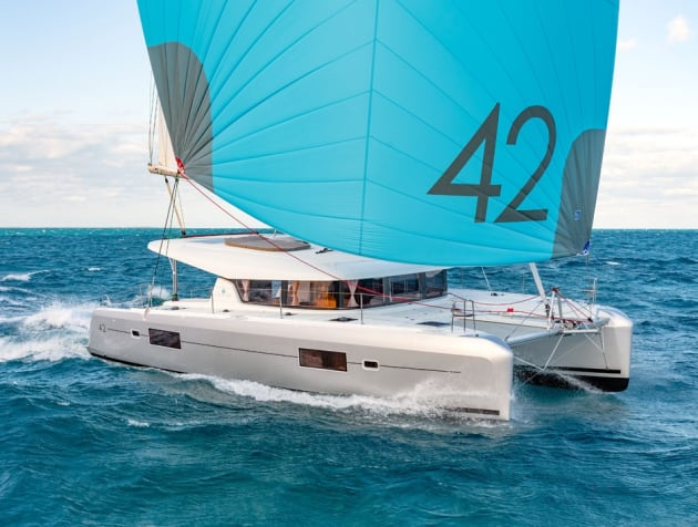 The Multihull Group will be showing the Lagoon 42 catamaran (Photo: Nicolas Claris).