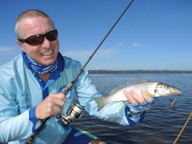 GSP lines have revolutionised finesse lure fishing for whiting, bream, bass and flathead.