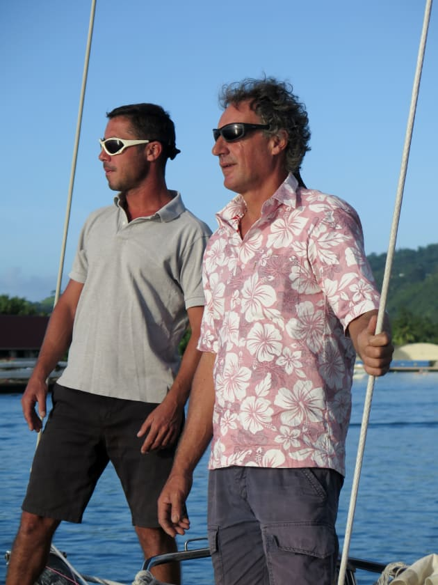 Benoît Parneaudeau and David Allouch have been appointed as the new Multihull Solutions sales team in French Polynesia.