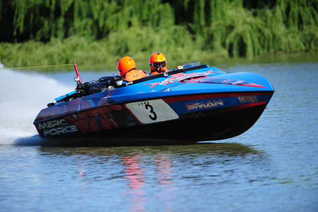 Merc Force won outright honours in this year's Bridge to Bridge Water Ski Classic