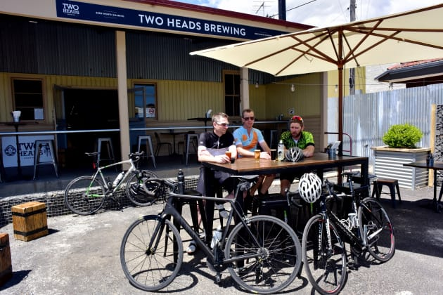 Rising temperatures call for a refreshing post-ride brew.