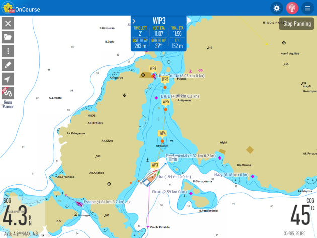 Marinetraffic launches updated oncourse app marine business with the new oncourse app users can plan their journey by setting their track on publicscrutiny Images