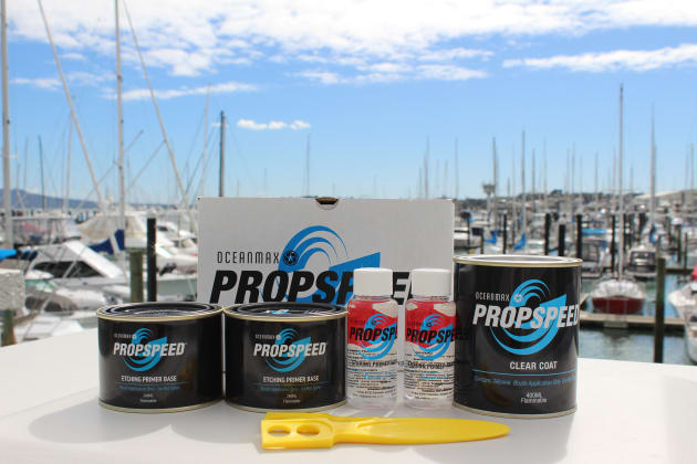 Propspeed anti-foul products.