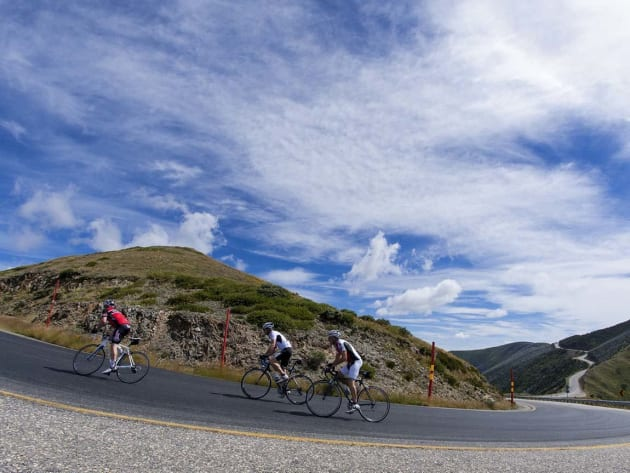 One of Australia's top cycling destinations is the Victorian high country region of Bright.