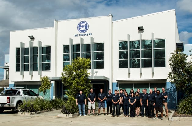 The Sam Allen Wholesale team at the company's current home at Morningside, Brisbane.