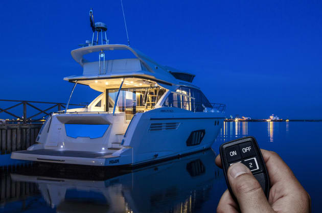 Remote controls such as Volvo Penta's e-Key Remote are designed to make going boating easier.
