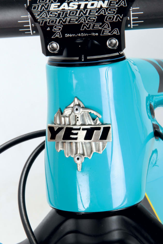 This head badge means a lot to many riders and it sure is a sweet looking bike.