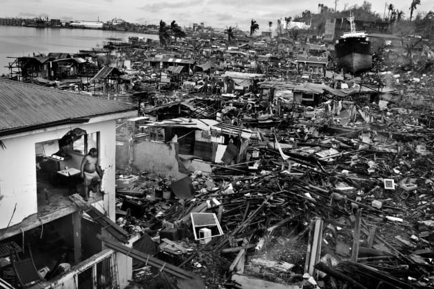 Tacloban. In November 2013, Typhoon Haiyan devastated large swathes of Southeast Asia, causing more than 6,300 fatalities in the Philippines alone.  © Brendan Esposito.