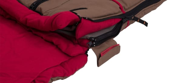 ARB Sleeping Bag zip closure close-up