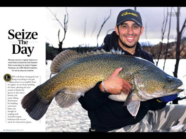 Murray cod are a regular feature on most fisho's bucket list and Copeton Dam is one place to make it happen. However, as Luke Galea explains, it's not as easy as it seems.