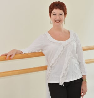 Classes with Anita Young from the Royal Ballet School