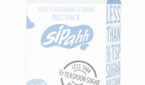 Sipahh straw packs reflect low-sugar trend