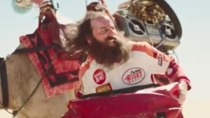 Budget Direct's Captain Risky gets lost on desert trek