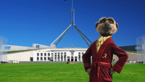 Compare the Market's Aleksandr the Meerkat is campaigning for PM