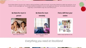 Stockland shows support for mums on Mother's Day