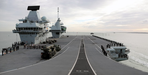 BAE Systems offers Queen Elizabeth carrier design to India