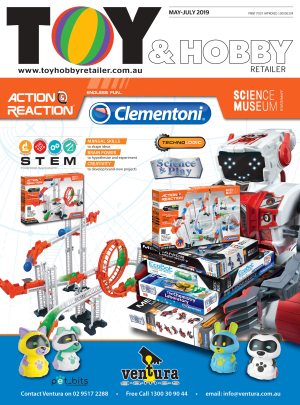 The May-July edition of Toy & Hobby Retailer is online now!
