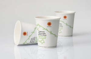 Stora Enso makes cups renewable