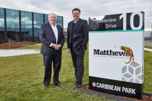 Matthews' growth drives move to new premises