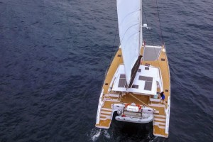 Australian debut of 52ft Seawind 1600 at Sanctuary Cove Boat Show