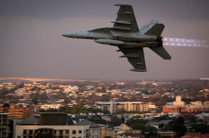 RAAF Growlers reach IOC milestone