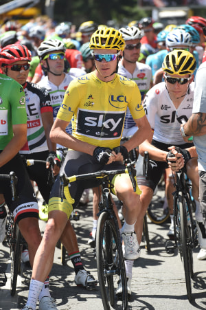 Chris Froome Out Of 2019 Tour de France After High Speed Crash
